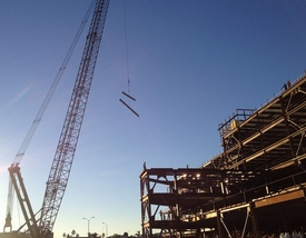 Community Memorial Hospital construction in Ventura